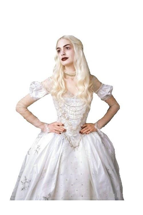 Белая королева, в стране чудес