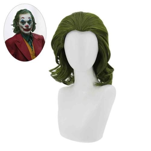 Парик зеленые волосы, парик Джокера
