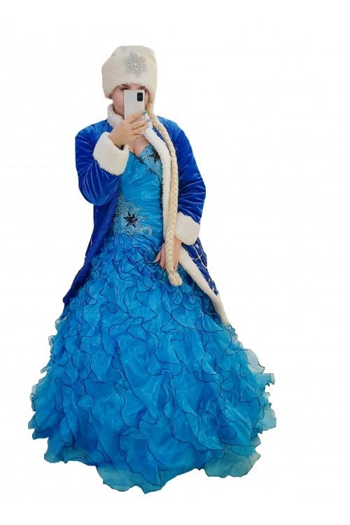 Снегурочка, пышное платье