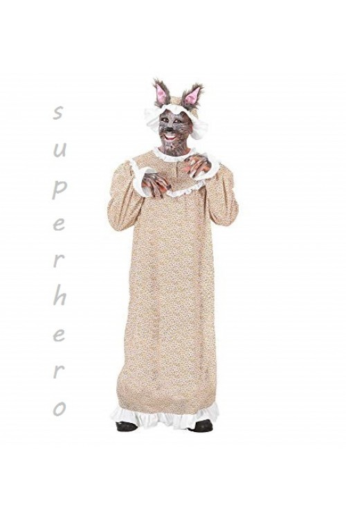Серый волк в бабушкином платье, Красная Шапочка