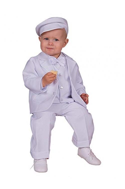 Детский белый фрак 1-2 года