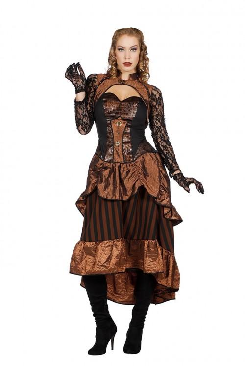 Стимпанк, готика платье