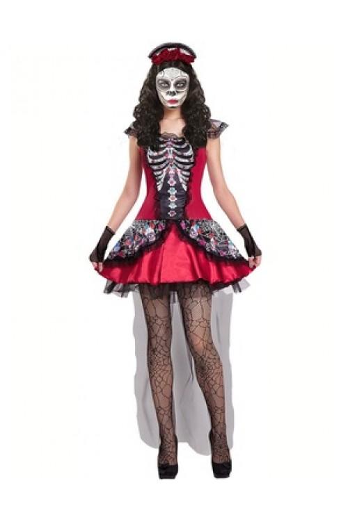Мексиканка скелет