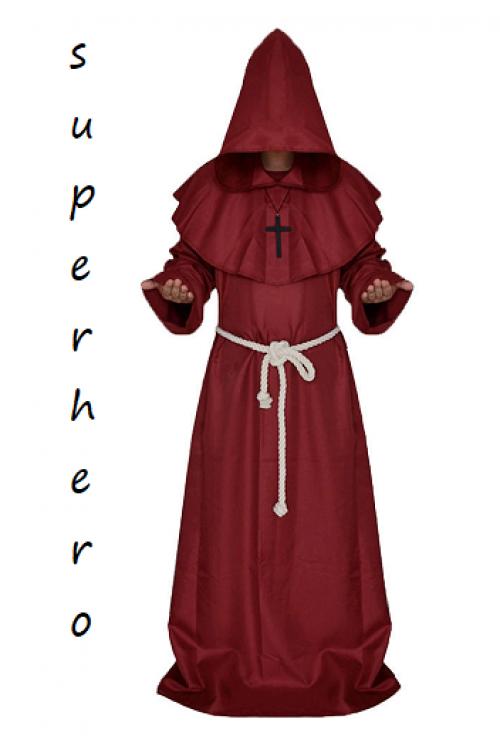 Монах средневековый