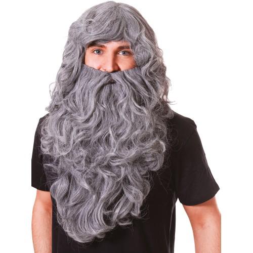 Борода серая