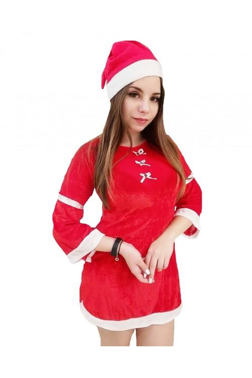 Снегурочка в красном