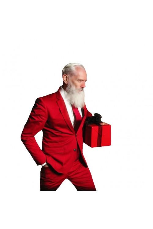 Стильный Санта Клаус