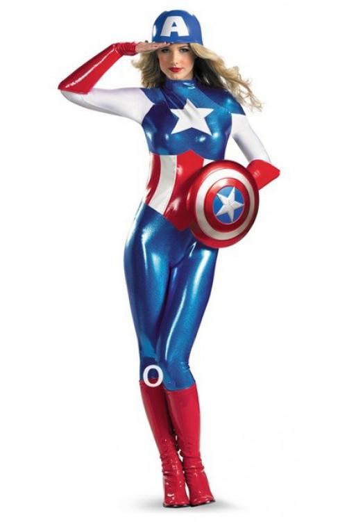 Капитан Америка комбинезон