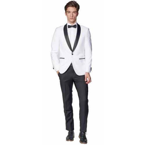 white tie tuxedo белый